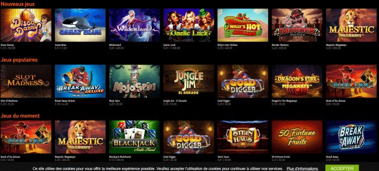 Casino777 présente la plus grande game de jeux disponibles.